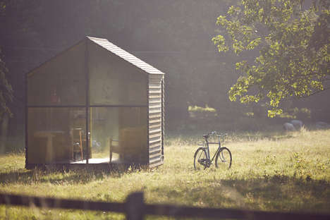 Woodside Design Studios - The Wish List Garden Shed by Nathalie de Leval is Designed for Paul Smith