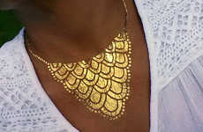 Twinkling Jewelry Tattoos - These Shimmery Temporary Tattoo Designs are a Modern Jewelry Replacement