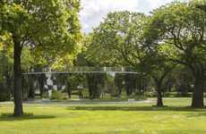 Mirrored Park Paviions