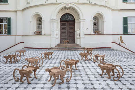 Monkey-Shaped Furniture - Henrique Steyer's Furniture is Inspired by Previous Iconic Creations