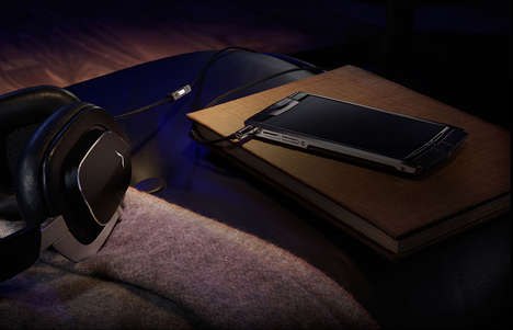Luxurious Audio Gadgets - The Vertu V Headphones and Speakers Blend Top Craftsmanship and Technology