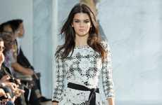 Feminine Picnic Fashions - Diane Von Furstenberg Showcases Plaid Designs at New York Fashion Week