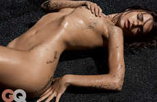 46 Tastefully Topless Photoshoots - From Topless Denim Editorials to Topless Celebrity Editorials