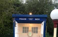 Portable Toilets - The Doctor Loo Encourages People to Take a Time-Travelling Washroom Break
