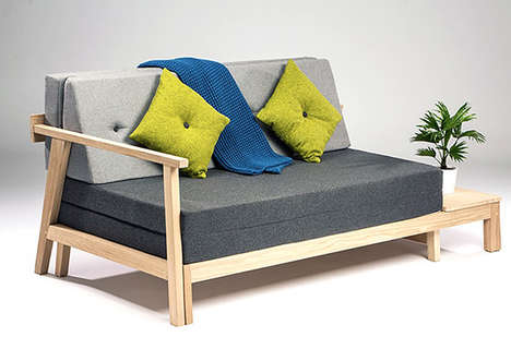 Stylish Sofa Beds - Matthew Lewis Hill Rethinks the Traditional Convertible Couch