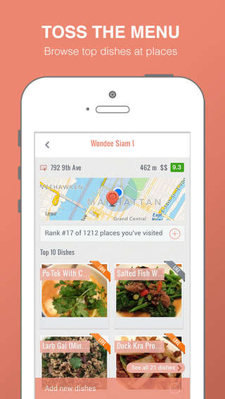 Food Mapping Apps - The Foodmento Food Finder App Catalogs a City's Best Dishes with Photos