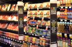Kid-Focused Grocery Stores - Supermarket Chain Giant Eagle Creates Healthy Snack Aisle for Children