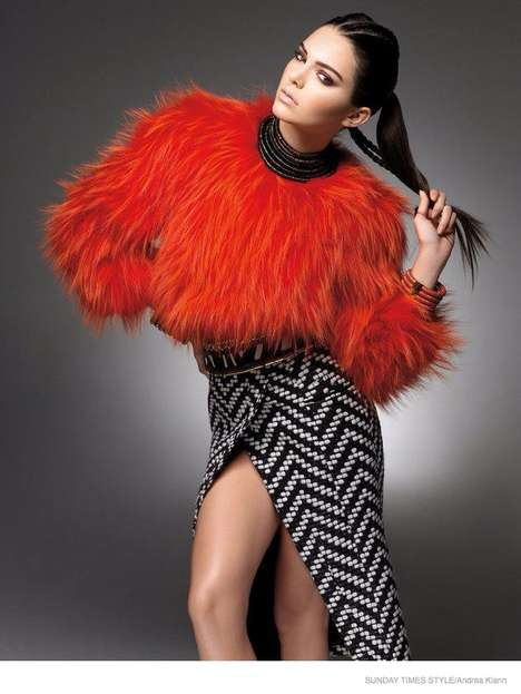 Edgy Fall Fashion - The Latest Edition of Sunday Times Style Stars Kendall Jenner