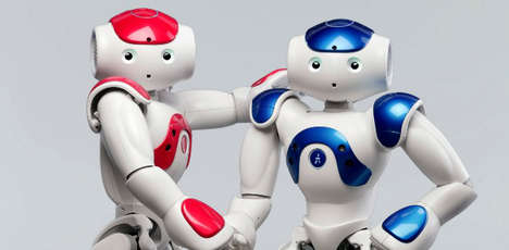 Robotic Droid Servants - The NAO Robot Toy is Your Personal Electronic Butler
