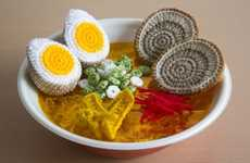 Crochet Ramen Meals - YouTuber Betibettin Recreates an Instant Noodle Dish Entirely Out of String