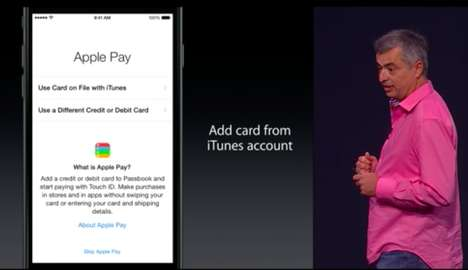 Mobile Payment Systems - Tim Cook Announces Apple Pay Will Be Built into iPhone 6 and 6 Plus