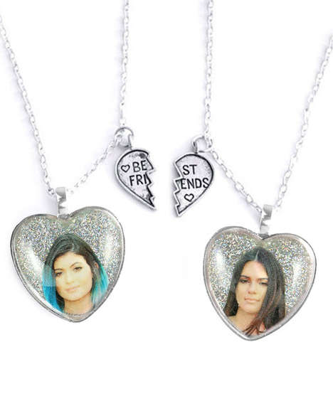 Reality Star Friendship Tokens - These Kendall and Kylie Friendship Necklaces Show Sisterly Love