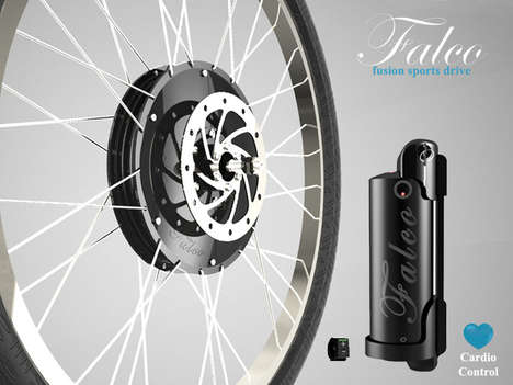 E-Bike Converter Kits - Falco's Fusion Sports E-Bike Kit Gives an Existing Cycle an Eco Boost