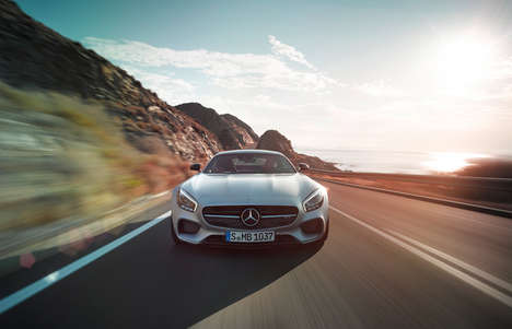 Dramatically Designed Cars - The Mercedes-Benz AMG GT Has a Dynamic and Eye-Catching Design