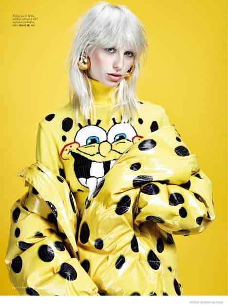 Quirky Edgy Fashion - The Latest Vogue Netherlands Issue Stars Model Lili Sumner