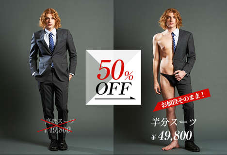 Literal Half-Off Campaigns - Yahoo! Japan's Half-Off Discount Halves Products & Prices
