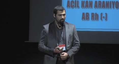 Social Issue-Addressing Apps - Mehmet Sencer Karadayi's Blood Donation Speech is on Mobile Solutions