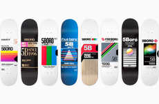VHS-Inspired Skateboards