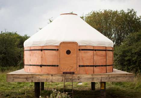 Sturdy Camping Structures - The Trakke Jero Yurt Tent is More Substantial Than Your Standard Shelter