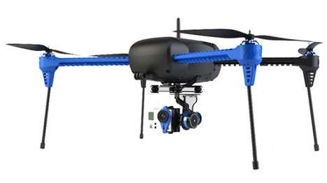 GPS Quadcopter Drones - The Iris+ Quadcopter Can Be Paired With Android Devices