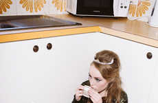 Retro Post-Party Editorials - Janneke Storm Photographs 'The Morning After' for C-Heads
