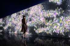 Interactive Floral Walls