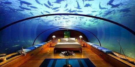 Under the Sea Hotels - Fiji's Poseidon Undersea Resort Offers Unparalleled Views of the Ocean