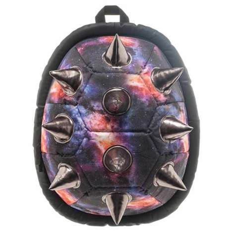 Spiky Galaxy Backpacks - These Extraterrestial Biodome Knapsack Designs is Out of This World