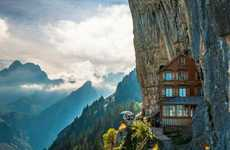 Majestic Mountainside Guesthouses - As Far As Switzerland Hotels Go, This One Has Quite the View