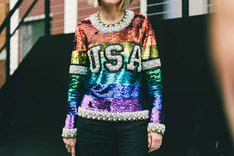 Outrageous Street Style Photography - Driely S. Documents Day Five of NYFW