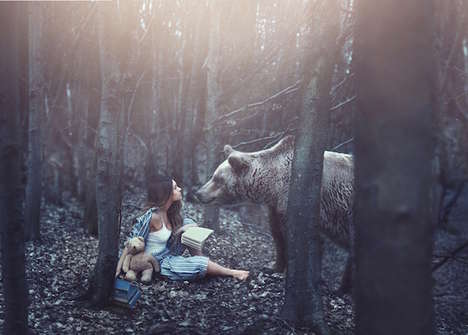 Dream-Inspired Photography - Escape Artist Rosie Hardy Creates Surreal and Imaginative Imagery