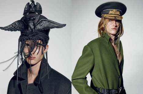 Militant Couture Editorials - VMAN's We Are the Champions Image Series Highlights Luxe Staples