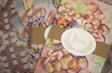Whimsy Writing Materials - Flora Stationery Supports College for Women in Eastern Europe