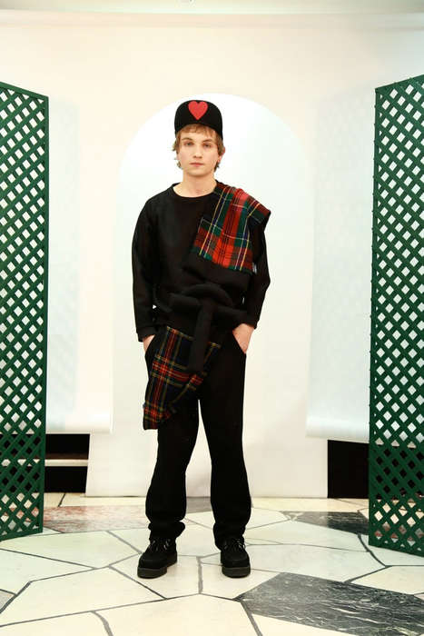 30 Scottish Style Finds - From Kilted Menswear Captures to Royal Tartan Runways