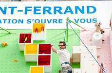 Furnished Climbing Walls - IKEA's Interacitve Ad Mixes Rock Climbing with Home Decor