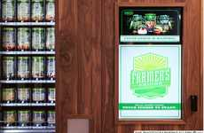 Healthy Hotel Vending Machines - Marriott & Farmer's Fridge Combine Fresh Food with Travel