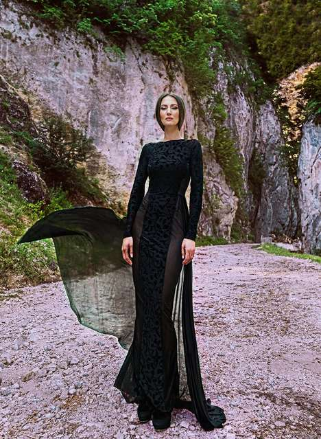 Majestic Gothic Fashion - The Latest Simona Semen Collection is Made for Modern Day Heroines