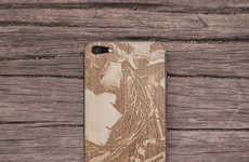 Laser-Engraved Mobile Accessories