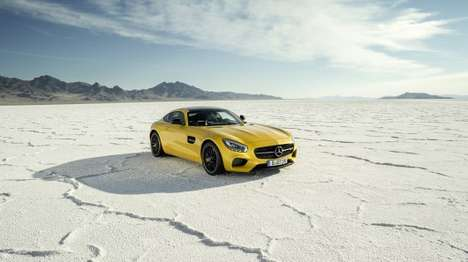 Agile Turbocharged Supercars - The Mercedes AMG GT Supercar Offers Speed and Balance
