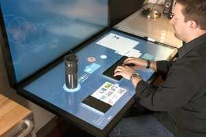 Ideum's Dynamic Desktop Comprises Projected Capacitive Touch Tables