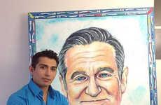 Celeb Toothpaste Portraiture - Cristiam Ramos Paints Portraits Using Different Oral Hygiene Brands