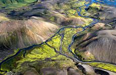 Icelandic Aerial Landscapes
