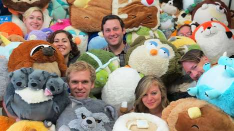 Giant Round Stuffed Animals - Squishable is a New York Start-Up that Capitalized on Social Media