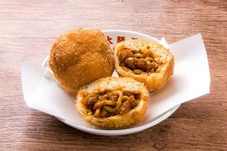 Spicy Ramen Donuts - Japanese Restaurant Osaka Ohsho Debuts a Limited Edition Dish