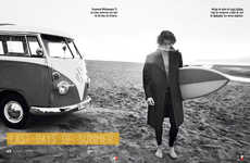 Rugged Surfer Fashion - Richard Ramos Captures GQ Spain's Last Days of Summer Story