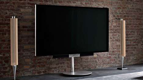 Supersized Luxury TVs - The BeoVision Avant 85 Offers 85 Inches of Unsurpassed Picture Quality