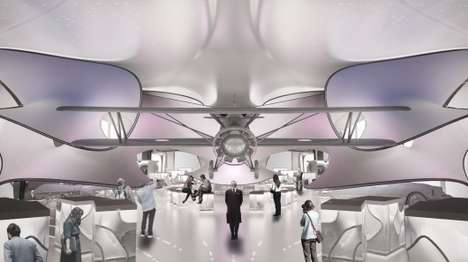 Mathematical Gallery Designs - Zaha Hadid Will Design the London Science Museum Mathematics Gallery