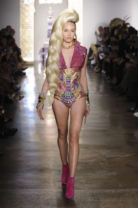 Ghetto Fabulous Fashion - The Blonds Latest Spring/Summer Show Boasts Giant Braids