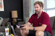 Celeb Gaming Fundraisers - Will Ferrell Hates Cancer and is Playing Video Games for Charity