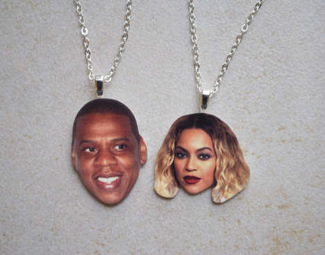 Celeb Romance Accessories - These Etsy Friendship Necklaces Celebrate Hip Hop Royalty